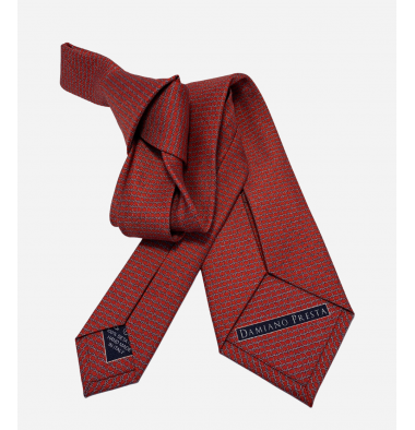Seven Folds Silk Tie