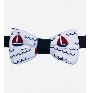 Papillon Bianco con Barca