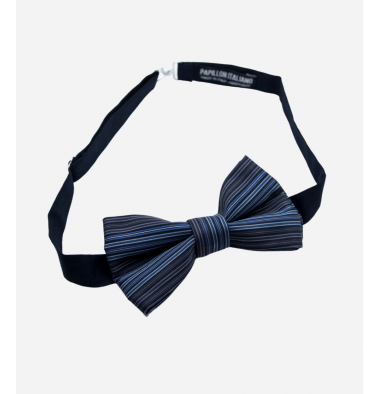 Black Bow Tie with Pattern